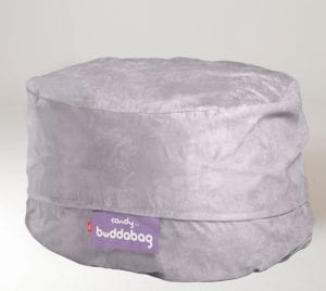 Buddabag Maxi Cover - Micro Suede Candy Buddabag Mini Cover - Micro Suede Candy Mercury Grey