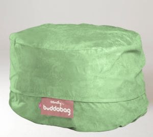 Buddabag Midi Cover - Micro Suede Candy Turquoise