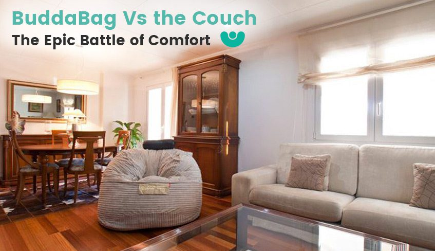 BuddaBag Vs the Couch The Epic Battle of Comfort