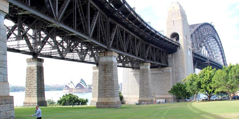 Sydney Harbour Bridge maintenance North Pylon - Stronghold Scaffolding Hire