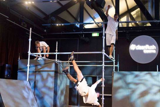 Scaffolding for A Parkour Course - Stronghold Scaffolding Hire Sydney