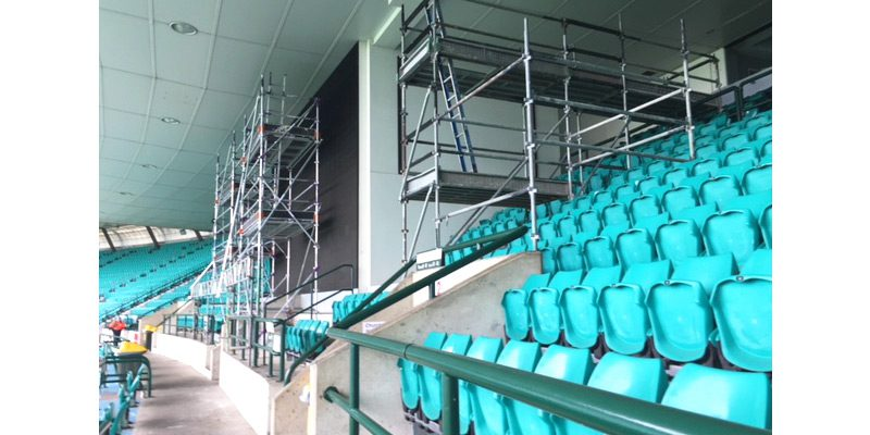 Cricket Ground Moore Park - Stronghold Scaffolding Hire - Sydney