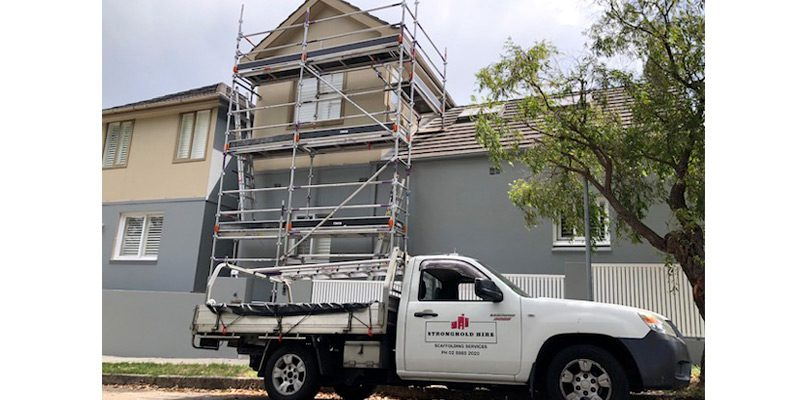 Aluminium scaffold hire in Clovelly - Stronghold Hire Sydney