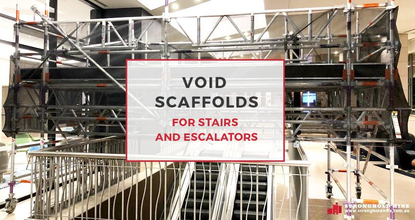 Void Scaffolds for Stairs and Escalators - Stronghold Hire Sydney